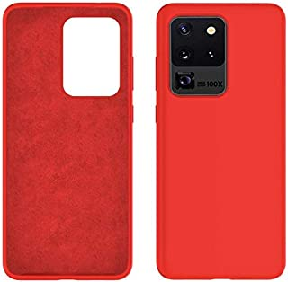 Rock Samsung Galaxy S20 Ultra Case Flexible Soft Lining Red