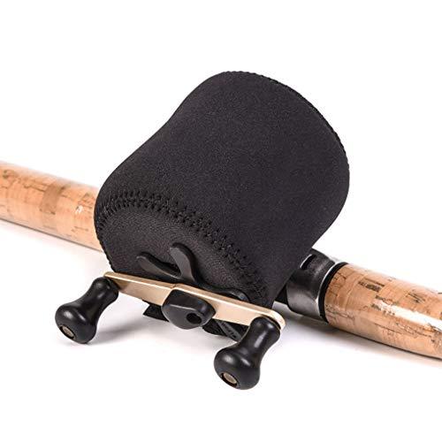 ZFW 2 Packungen - Spulentasche für Köderguss, Tasche für Schutzhülle zum Angeln, tragbare Aufbewahrungstasche, komfortabel, kollisionssicher, geringes Gewicht