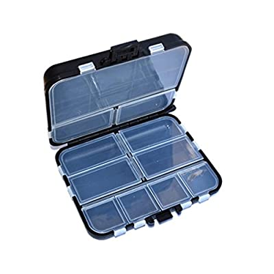 Aiming 16grids Fishing Lure Tackle Hook Bait Plastic Storage Box Case by Aiming