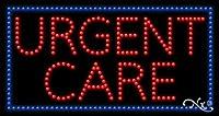 17x 32x 1インチUrgent Careアニメーション点滅LEDウィンドウサイン