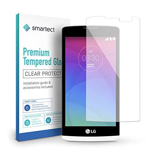 smartect Pellicola Protettiva per LG Leon 9H Vetro Temperato – Design Ultra Sottile – Applicazione Anti-Bolle – Anti-Impronte