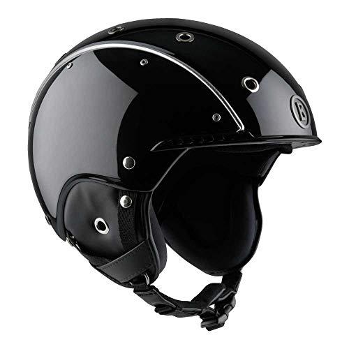 Bogner Helm PURE BLACK Größe L - Kopfumfang 58-62cm