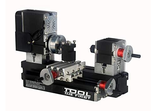 60w 12000rpm Ad alta potenza mini metallo tornio B TZ20002MG