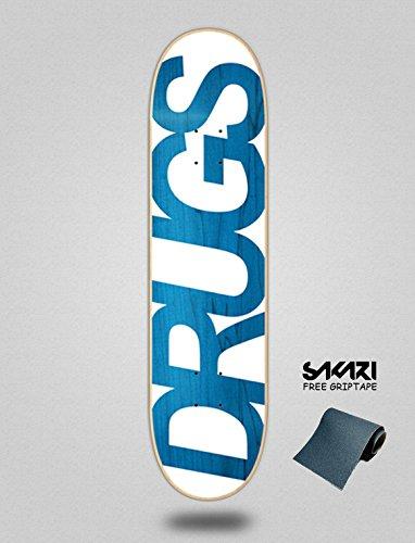 lordofbrands Monopatín Skate Skateboard Drugs 8.0