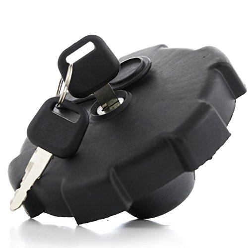 Tapa para depósito de combustible de 80 mm para camiones con 2 llaves, color negro