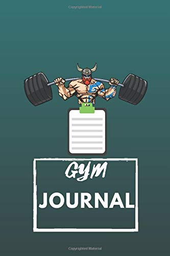 gym planning notebook: journal gym journal volume - exercise journal & fitness diary / essentials health fitness planner