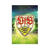 Leinwand-Poster im Stil der Fußballmannschaft VfB