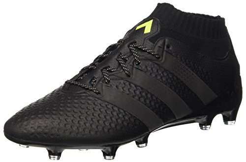 adidas Herren Ace 16.1 Primeknit Fußball-Trainingsschuhe, Nero (Cblack/Cblack/SYELLO), 39 1/3 EU