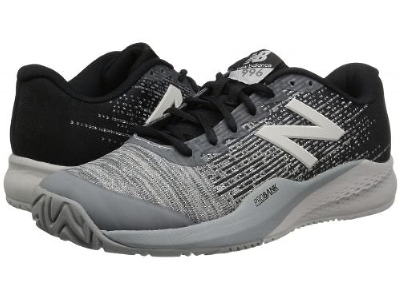 New Balance(ニューバランス) メンズ 男性用 シューズ 靴 スニーカー 運動靴 996v3 - Black/Grey [並行輸入品]