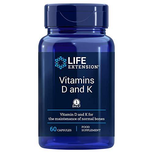 Life Extension, Vitamin D und K Depot, 3-Tage Dosis, 60 vegane Kapseln