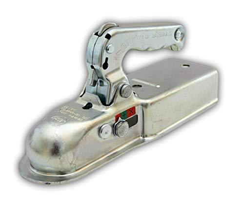 Albe Berndes Zugkugelkupplung EM 80 V - G Ausführung/AUSF. G bis 750 kg Kugelkupplung Vierkant Rohr 70mm Kupplung Anhänger Zugmaul 05270