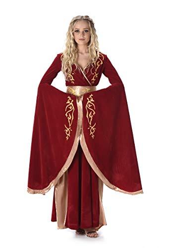 Folat B.V. Karnival81076CostumesFantasy Reina Lady Cersei Disfraz para Mujer Talla S