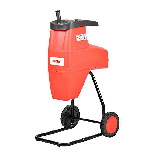 Hecht Biotriturador eléctrico con cippador HECHT626 Silent de 2600 W hasta 4 cm de diámetro