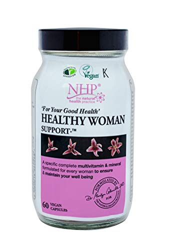 Natural Health Practice Healthy Woman Support Capsules for General Wellbeing and Health (60 Capsules)