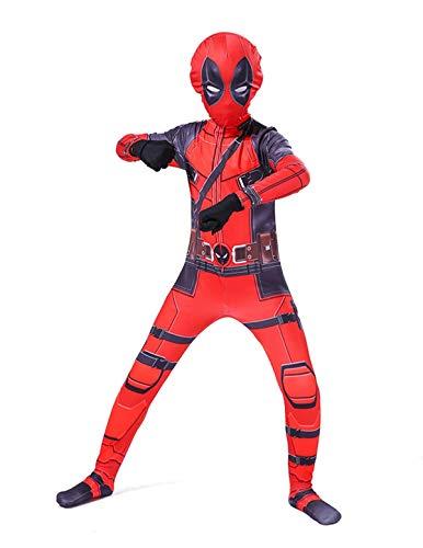 Leezeshaw - Disfraz de superhéroe de Marvel unisex para adultos