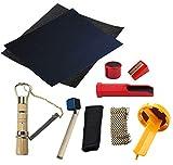 EDWARD & CO. 10 piezas en set Snooker taco reparación kit billar taco reparación accesorios billar billar Snooker