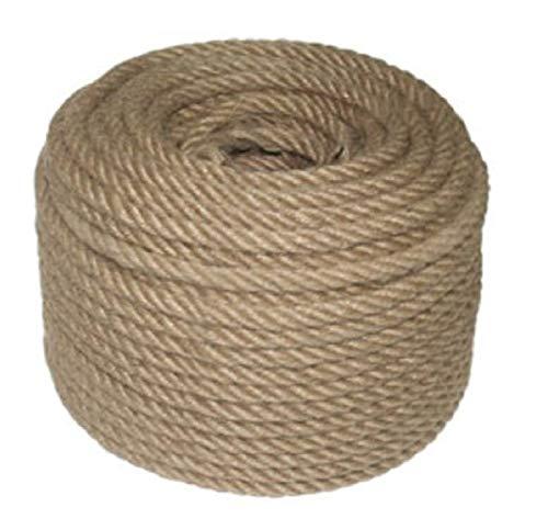 8 mm 50 Meter Garten Schnur Jute Kordel Garn Natur Bastelband Paketschnur Juteband Kunsthandwerk Verpackungs DIY String Dekoration Seil