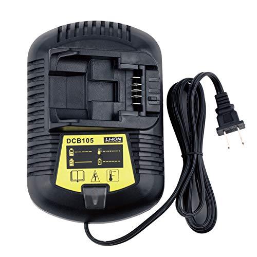 12/20-Volt DCB105 DCB112 Battery Charger For DeWalt 12V-20V MAX XR DCB107 DCB101 DCB200 DCB203 DCB204 DCB205