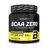 BioTechUSA BCAA Zero Bebida en polvo de aminoácidos aromatizada sin azúcar, con L-leucina, L-isoleucina y vitamina B6, 360 g, Té helado con limón