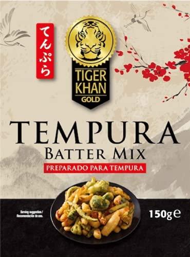Tiger Khan - Tempura Batter Mix - Preparado para Tempura - 150 Gramos