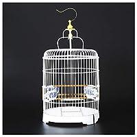 小さい鳥ケージ, 鳥かご プレビューペットキャリーインコ ケージ イージーホーム 防寒カバー,白,32*25cm