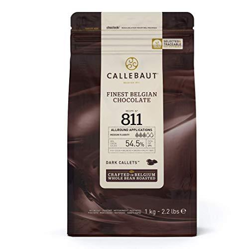 Callebaut 54.5% gocce di Cioccolato Fondente (callets) 1kg
