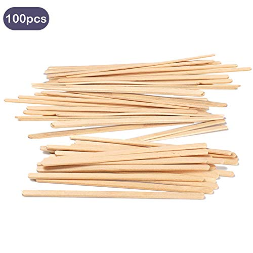 100PCS Wooden Coffee Tea Stirrer Sticks for Home Office Restaurant Party Travel Camping Picnics Portable Coffee Stir Sticks 14cm