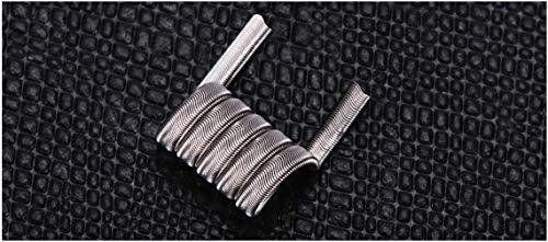 GFV Handmade Alien Fused Clapton(27GAx3)+38GA Ni80 Prebuilt Wire for Craft Hobby Use – 2PCS