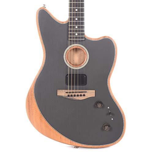 Fender Acoustasonic Jazzmaster Tungsten · Guitarra eléctrica
