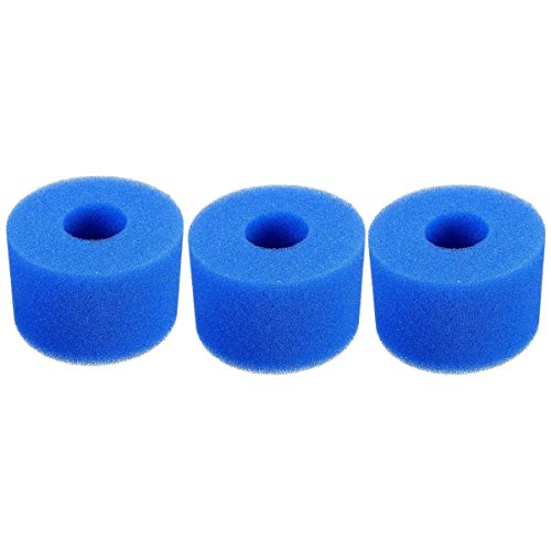 BOINN 3 Piezas para Pure SPA Cartucho de Filtro de Tina Caliente de Espuma Reutilizable/Lavable Tipo S1