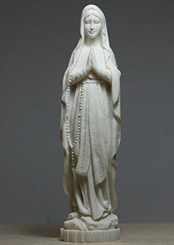 Desconocido Madonna Santa Bendecido Virgen Madre Mary Lady Estatua Escultura de alabastro 8.66΄ ΄