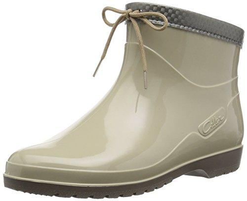 [アキレス] レインブーツ 長靴 作業靴 レインシューズ 日本製 E レディース OLB 0340 ベージュ 23