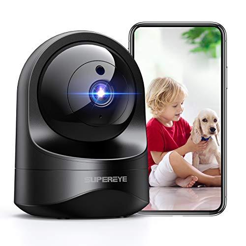 1080P Camara Vigilancia WiFi Interior, SUPEREYE Cámara IP W