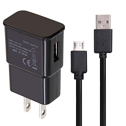 Micro USB Charger Cables Compatible with Verizon Ellipsis 8 QTAQZ3 4G LTE Tablet PC Charger Data Wires