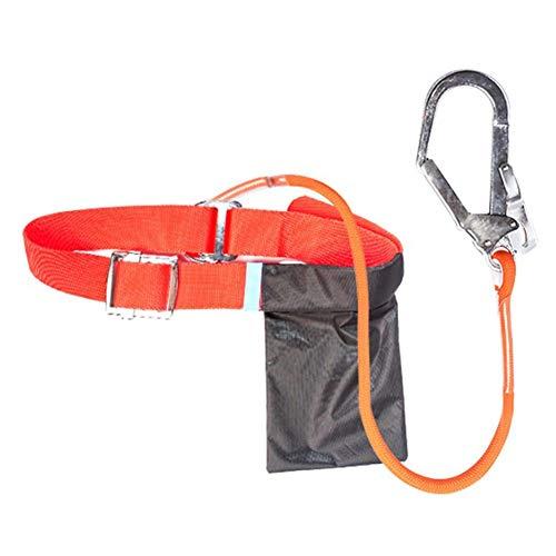 Klettergurt Sicherheitsgurt Für Bergsteigen Klettern Harness Outdoor-Sicherheitsgurt Absturzsicherung Sicherheitsgurt Taille Klettergurt Für Bergsteigen Sportklettern Baumklettern Feuerwehr Outdoor