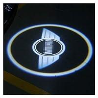 2Xカースタイリングアクセサリー車のドアツェッペリンプロジェクションランプのレーザー光用のMINI COOPER JCW F54 F55 F56 F60 R56 R60 CLUBMANようこそ (Color : X, サイズ : F model)