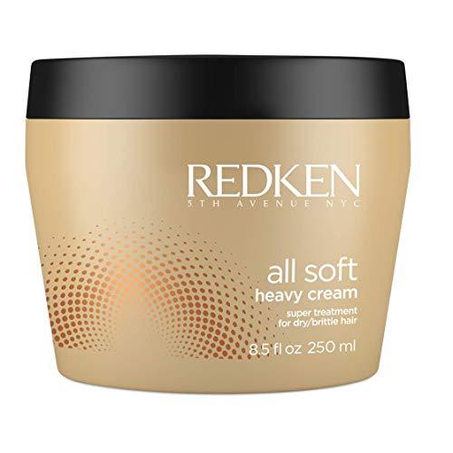 Redken - All Soft, Maschera Professionale per capelli secchi e fragili, dona maggiore condizionamento e idratazione, per una gestibilità e una morbidezza più intense, 250 ml