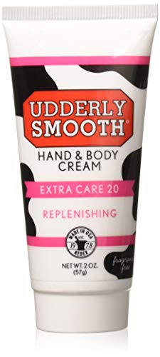 Udderly Smooth Hand & Body, Extra Care 20 Cream 2 oz (Pack of 2)
