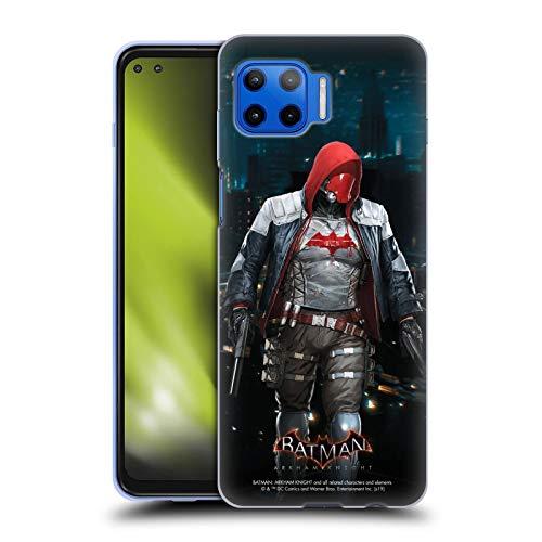 Head Case Designs Oficial Batman: Arkham Knight Capucha Roja Personajes Carcasa de Gel de Silicona Compatible con Motorola Moto G 5G Plus