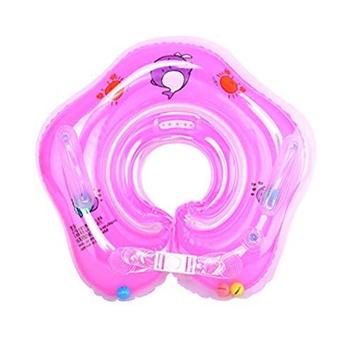 N-B Baby-Schwimmring Halsring Baby-Schwimmring Badewanne Aufblasbarer Halsring Home Baby-Schwimmsicherheit Achselring