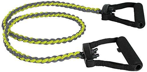 SPRI Resistance Band Power Braided Exercise Bands, Medium