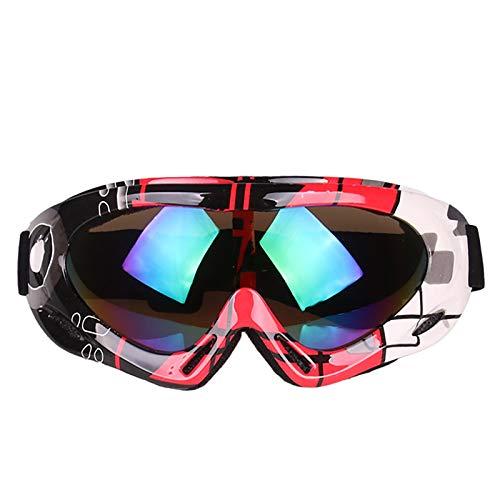 Allegorly Gafas De Esquí para Hombres, Mujeres Gafas De Snowboard para Deportes De Invierno Gafas De Esquí ProteccióN UV400 Y Resistencia Al Viento Gafas De Snowboard para Esquí Y MontañIsmo