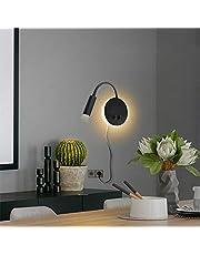 Budbuddy LED wandlamp met schakelaar moderne leeslampen bedlamp wandlamp indoor leeslamp draaibare wandverlichting hal slaapkamer hotels bedlampje 11W