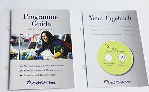 Weight Watchers Pro Points Liste PROGRAMM-GUIDE incl.Sattmacherliste *NEU 2015* Pro Points Plan 360° Broschüre von Weight Watchers