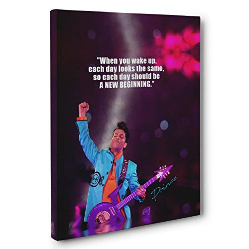 Prince Motivational Quote Canvas Wall Art