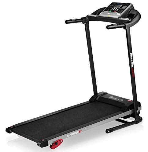 SereneLife Folding Treadmill - Foldable Home Fitness...