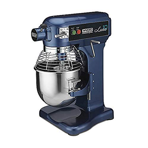 Waring Commercial WSM10L 10 qt Countertop Planetary Mixer 3/4 hp, 120v, 450W, 5-15 Phase Plug