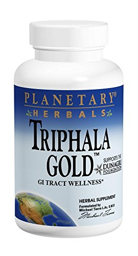 Planetary Herbals Triphala Gold 1000mg Extra Strength Ayurvedic - 120 Tablets