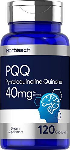 PQQ Supplement   40mg   120 Capsules   Maximum Strength   Non-GMO and Gluten Free Formula   Pyrroloquinoline Quinone   by Horbaach