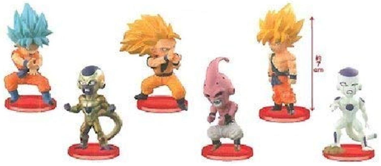 Dragon Ball Z World Collectible figures BATTLE OF SAIYANS vol.3 whole set of 6
